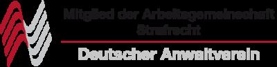 Mitglied der Arbeitsgemeinschaft Strafrecht im Deutschen Anwaltverein
